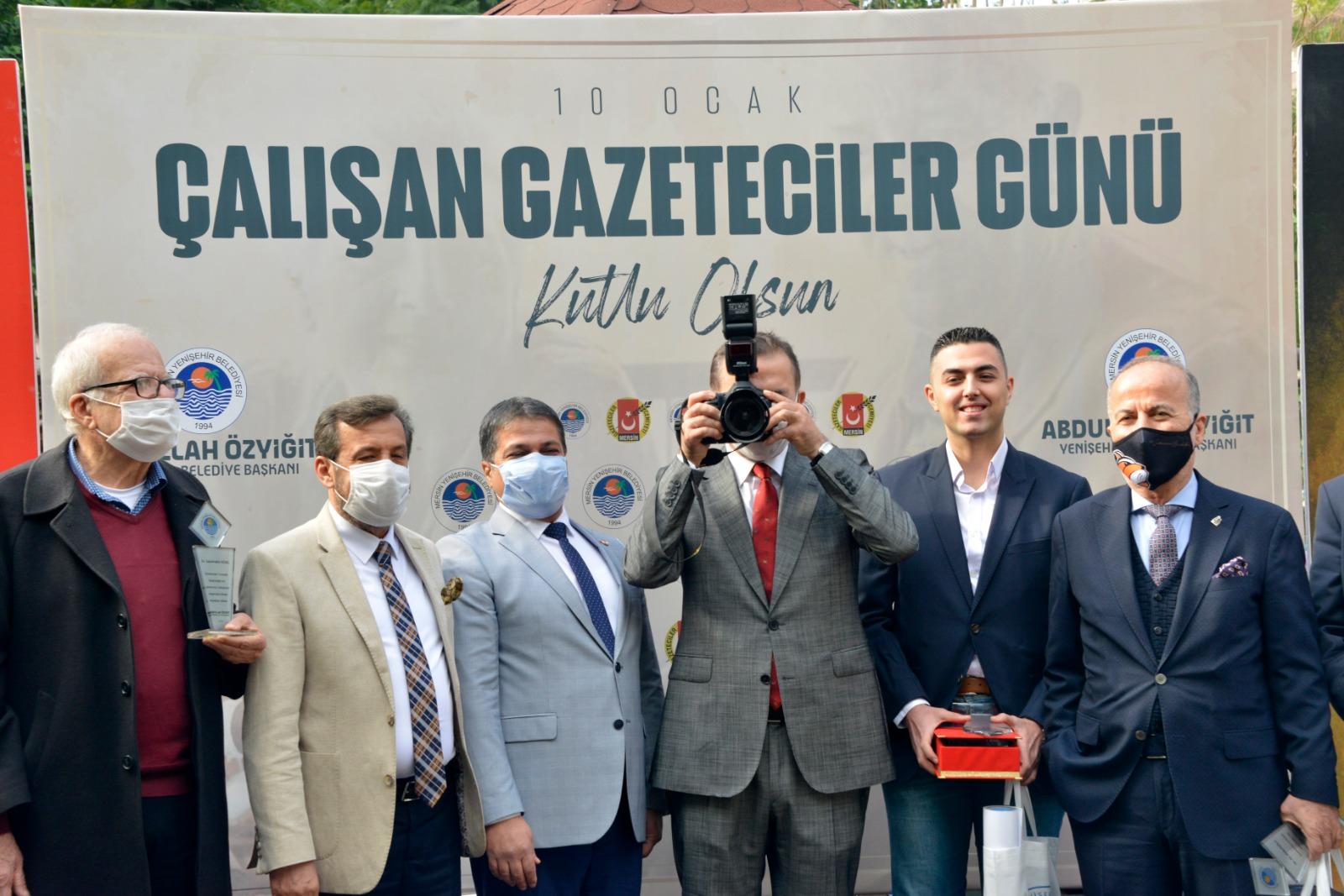 10 Ocak Çalışan Gazeteciler Günü Yenişehir'de kutlandı