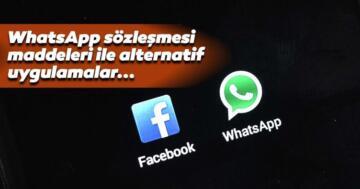 WhatsApp sözleşmesi nedir, nasıl iptal edilir ve ne zamana kadar kullanılabilir? Alternatif uygulamalar ile 2021 WhatsApp sözleşmesi maddeleri…