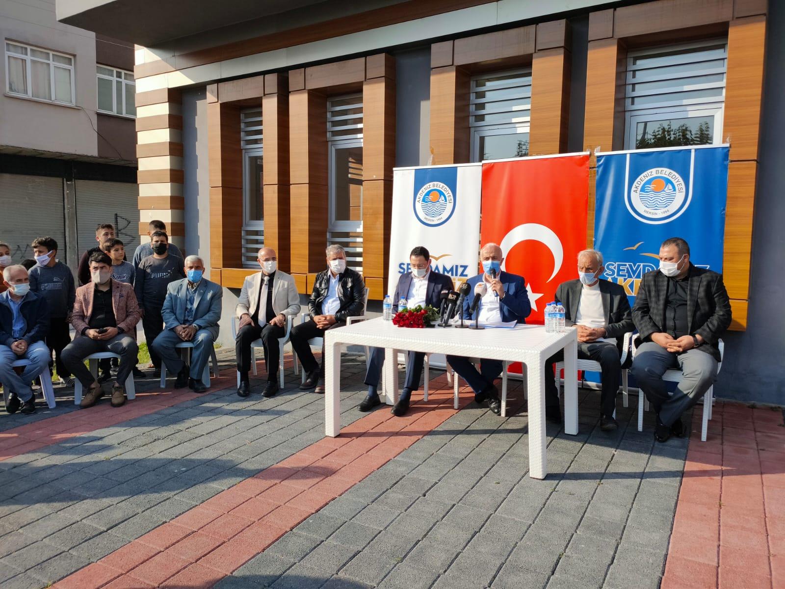 GÜLTAK, ÖZGÜRLÜK MAHALLESİ'Nİ ZİYARET ETTİ