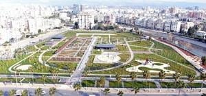 Türkiye'nin en büyüklerinden Mersin Millet Bahçesi tamamlandı