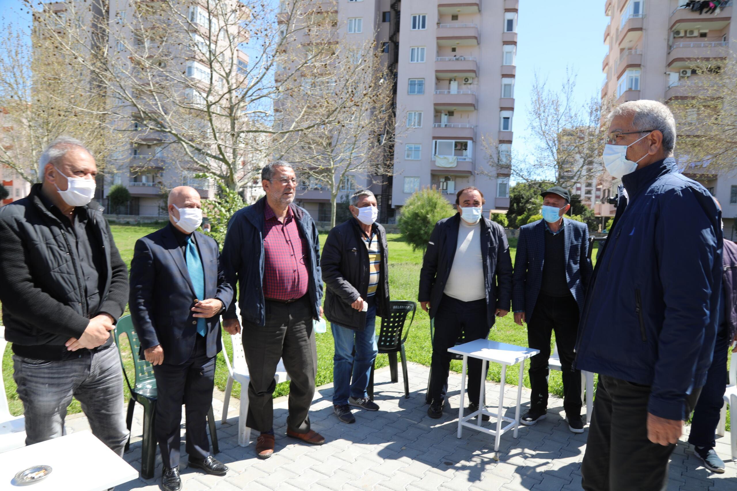Başkan Tarhan Emeklilerle Buluştu