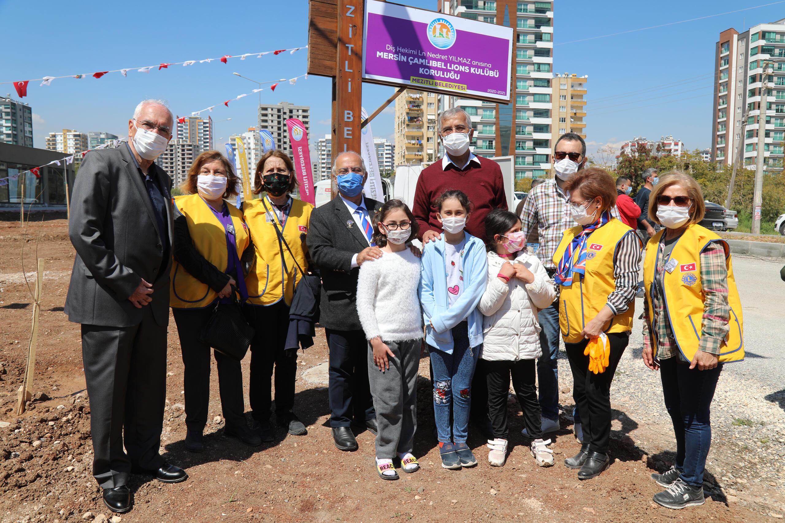 Mezitli'de 62. Koruluk Merhum Dr. Yılmaz Adına Açıldı