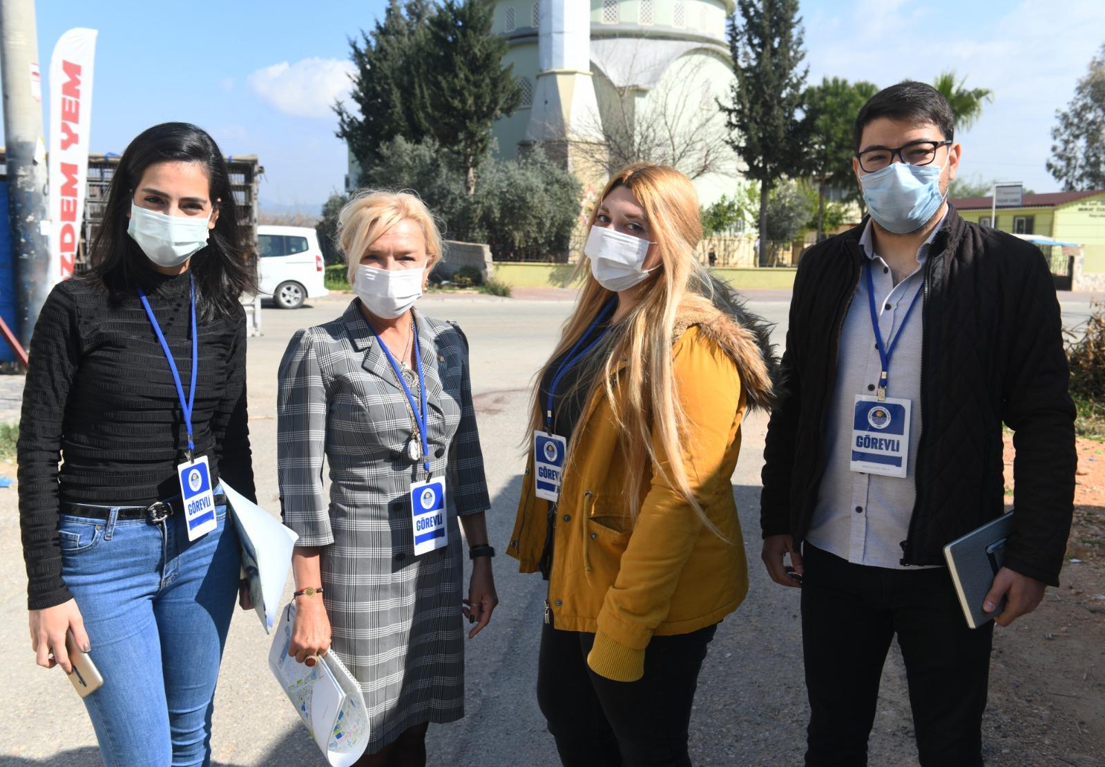 Yenişehir'de Sıfır Atık Projesi için vatandaşlar bilgilendiriliyor