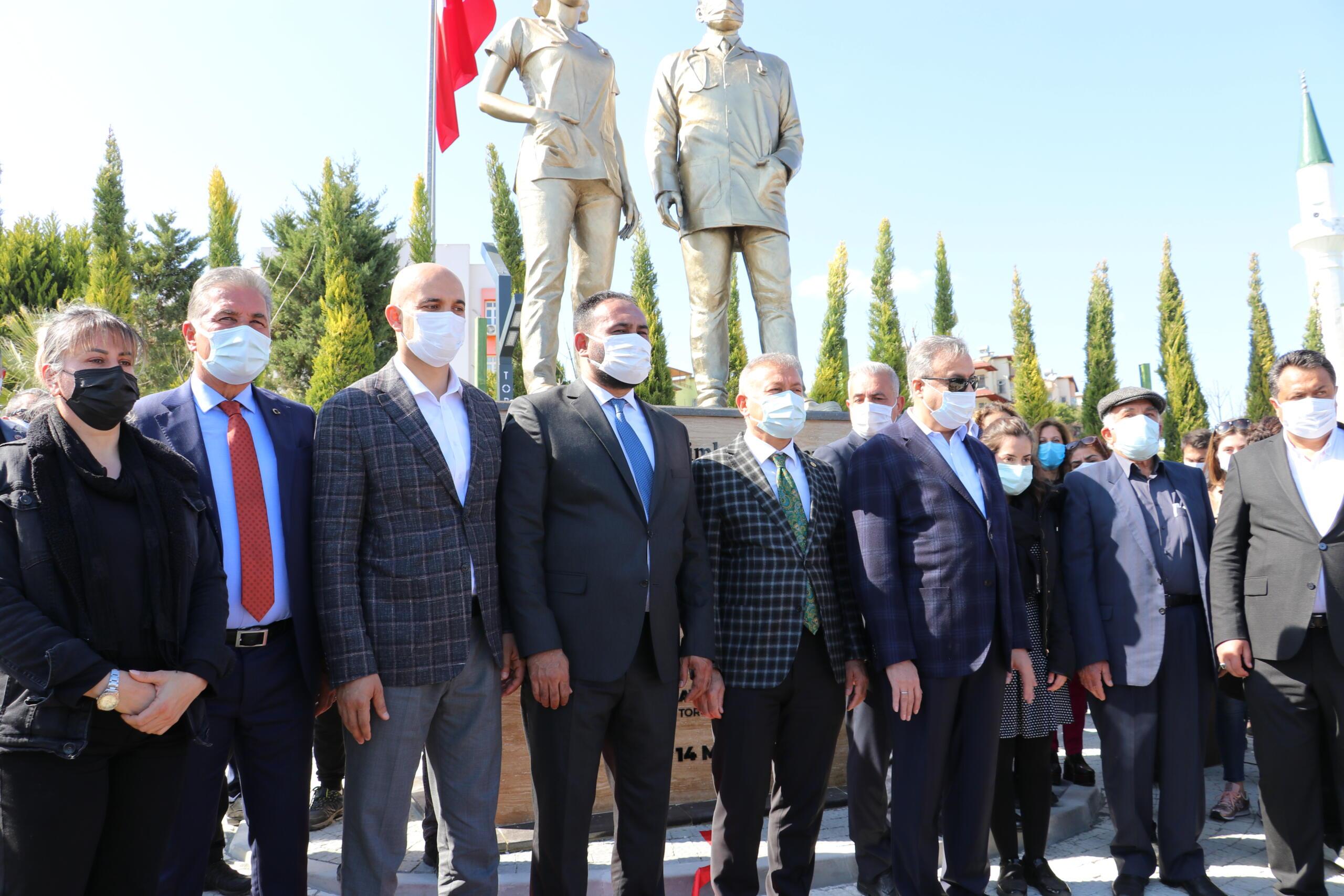 PANDEMİ KAHRAMANLARININ ADI TOROSLAR'DA YAŞAYACAK