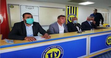 Tarsus İdman Yurdu Başkanı H.Şahin Kırbıyık Basın Mensupları ile Buluştu