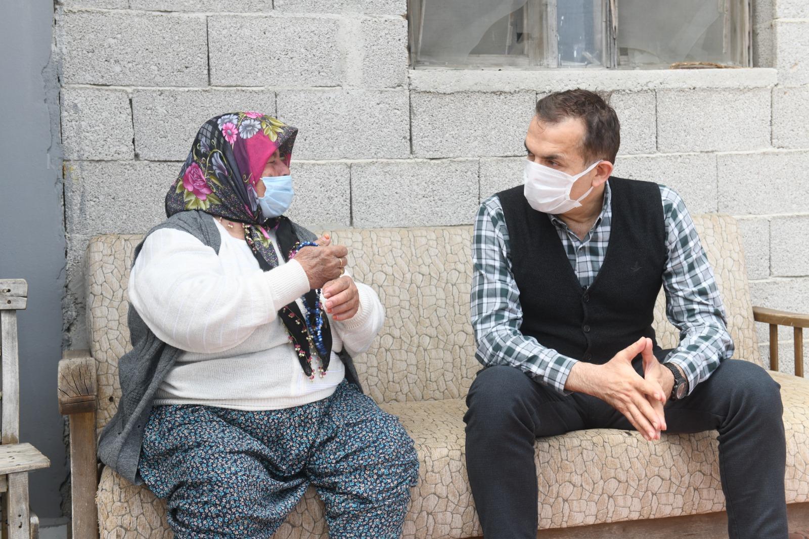 Başkan Özyiğit'ten kırsal mahallelere ziyaret