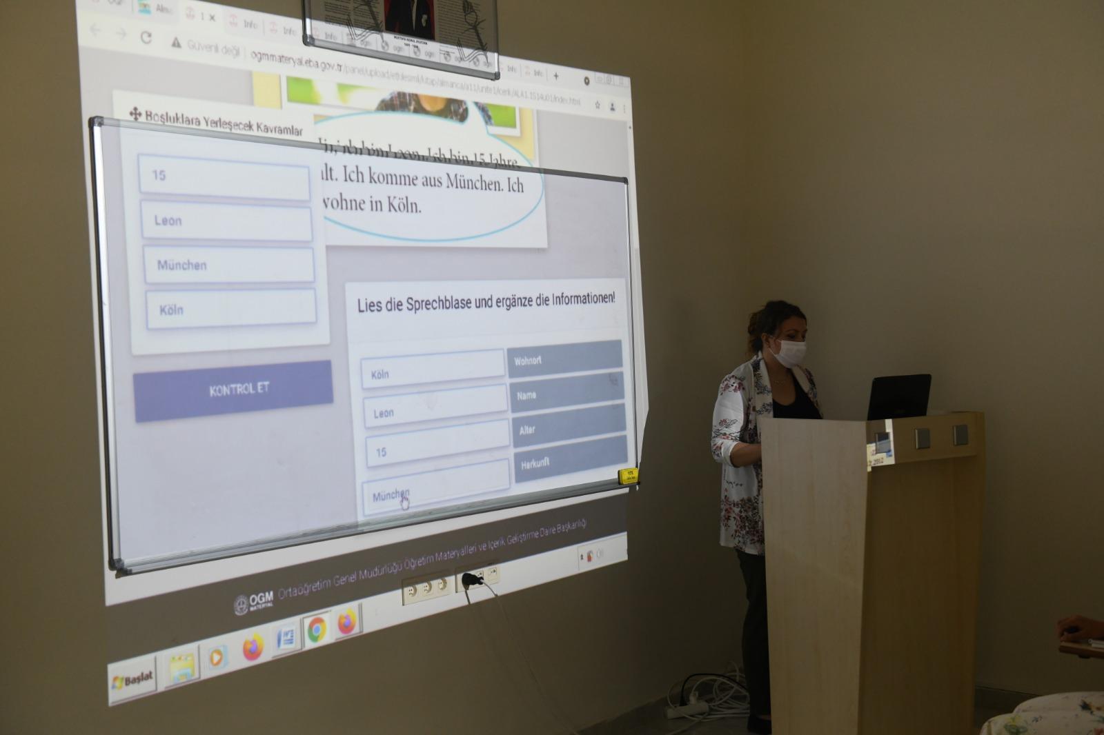 Yenişehir Belediyesinin Almanca kursu başladı