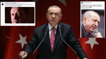 CumhurbaşkanıTayyip Erdoğan'a destek için Twitter'da paylaşılan mesajlar ve fotoğraflar dikkat çekti.