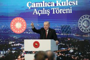 Çamlıca Kulesi Açıldı! Cumhurbaşkanı Kanal İstanbul İçin Tarih Verdi