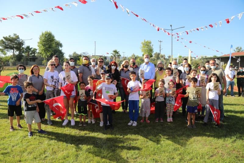Atatürkün Mezitli'ye gelişinin 83. yıldönümü nedeniyle tören yapıldı