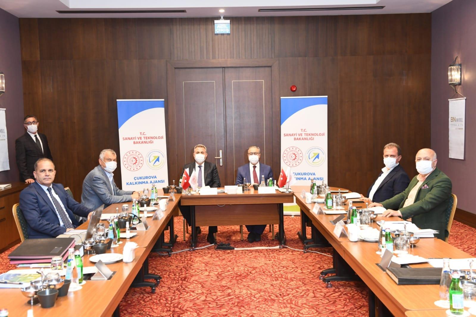 ÇKA Yönetim Kurulu Toplantısı Mersin'de Gerçekleştirildi