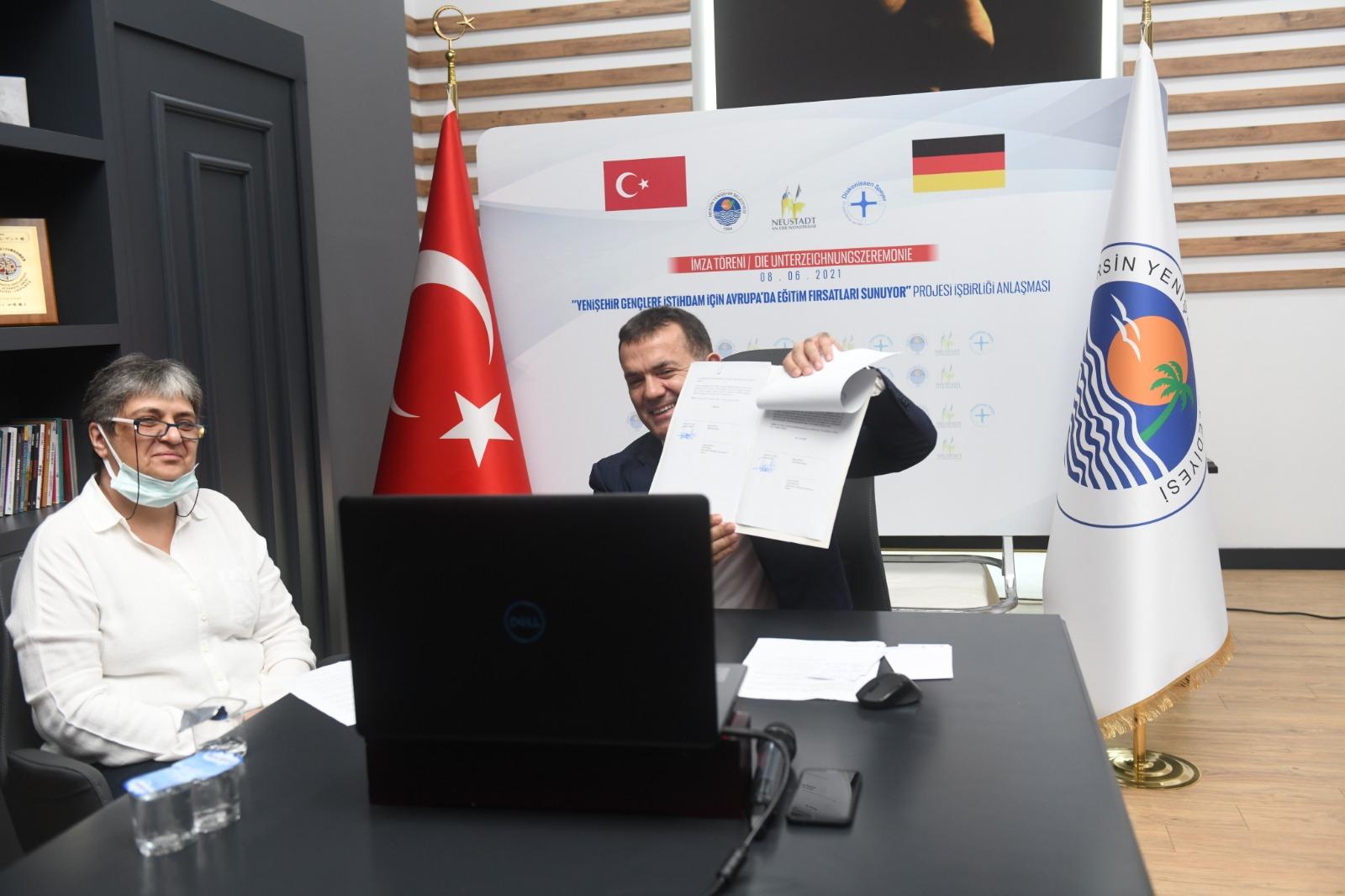 Yenişehir Belediyesi gençlere yurt dışında eğitim ve iş imkânı sağlayacak
