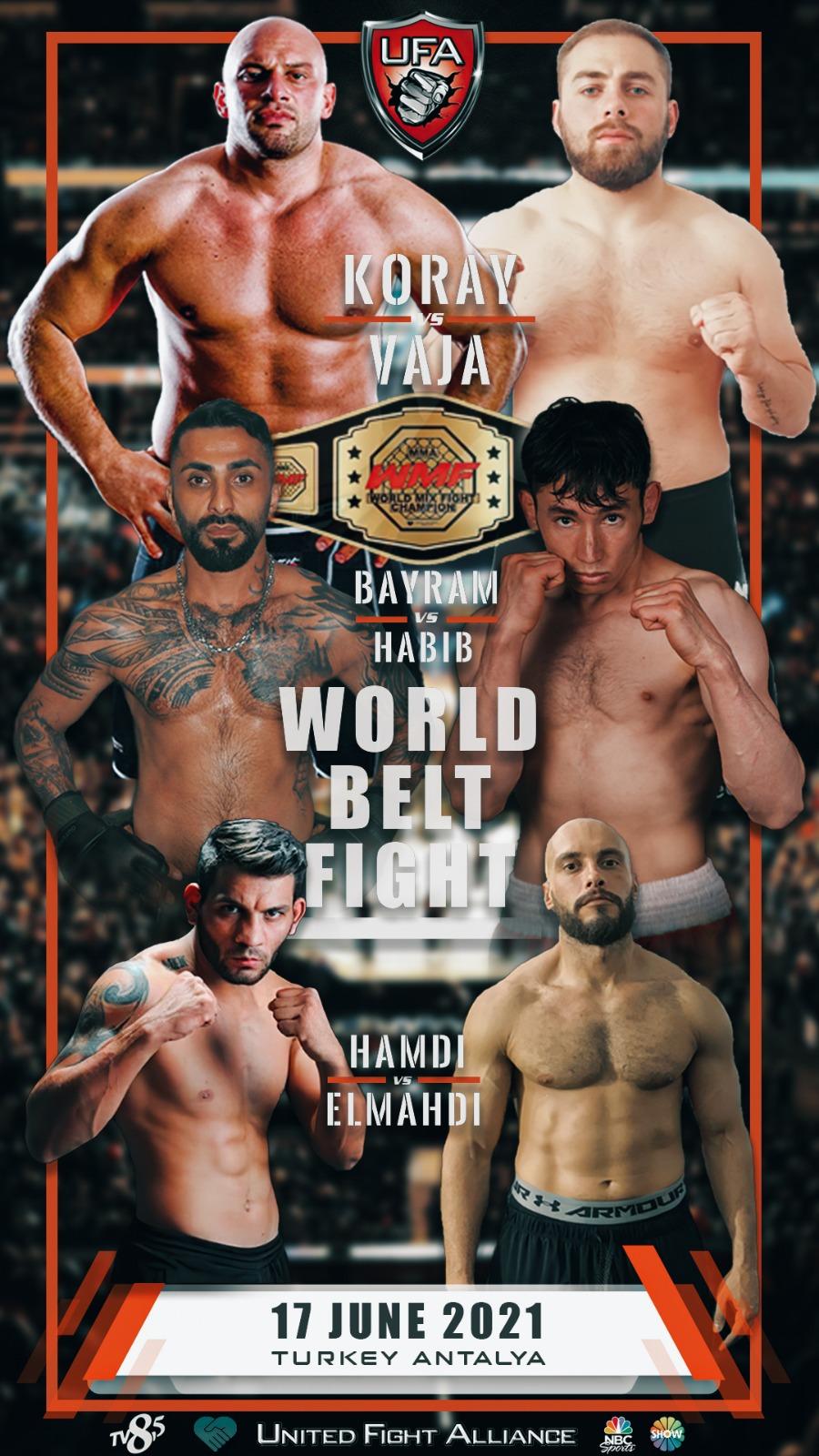 Dünyanın en büyük karma dövüş organizasyonu 17 Haziran'da Antalya'da başlayacak