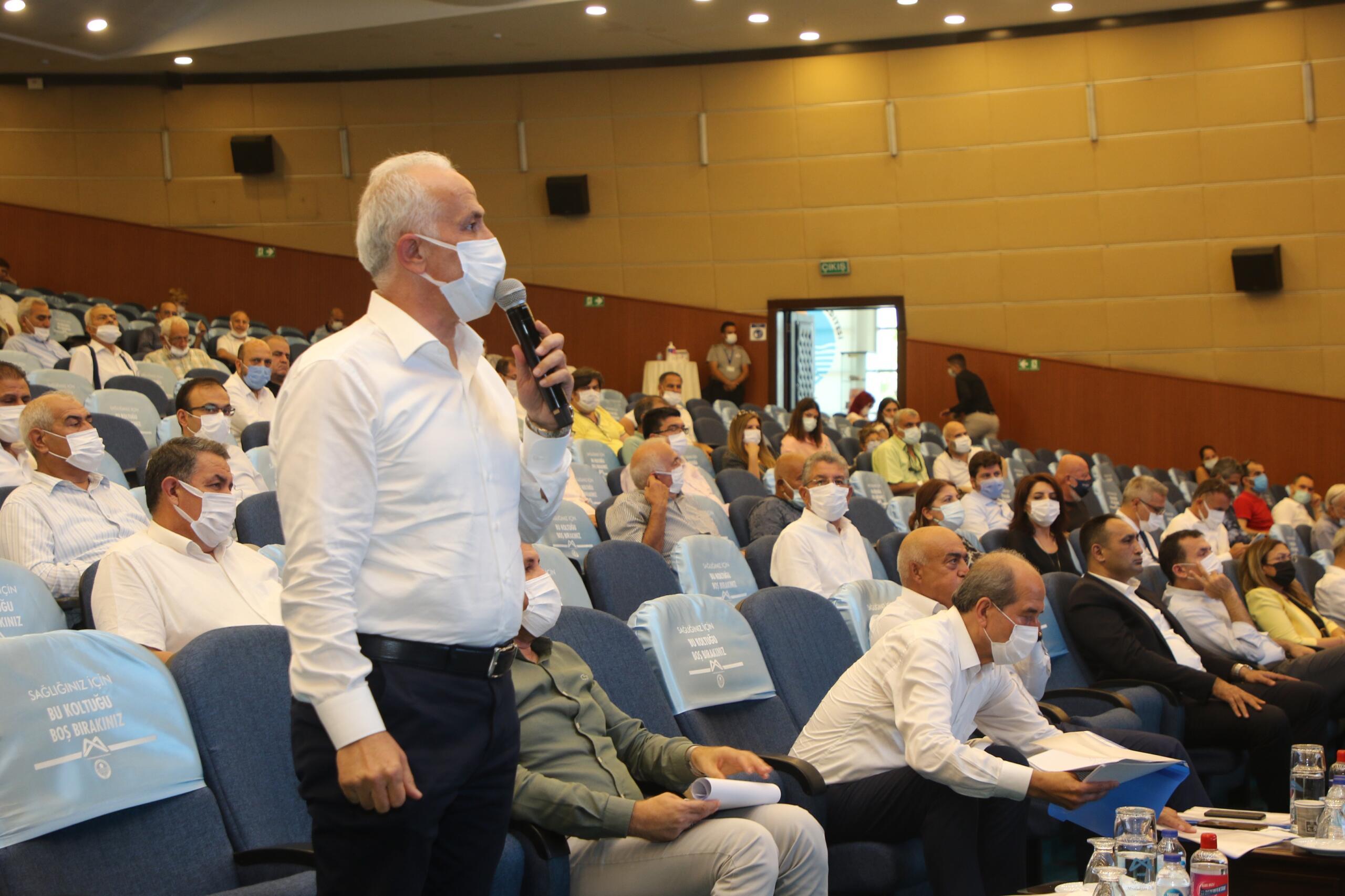 Akdeniz Belediye Başkanı, Büyükşehir Belediyesi Meclis Toplantısında çağrıda bulundu;