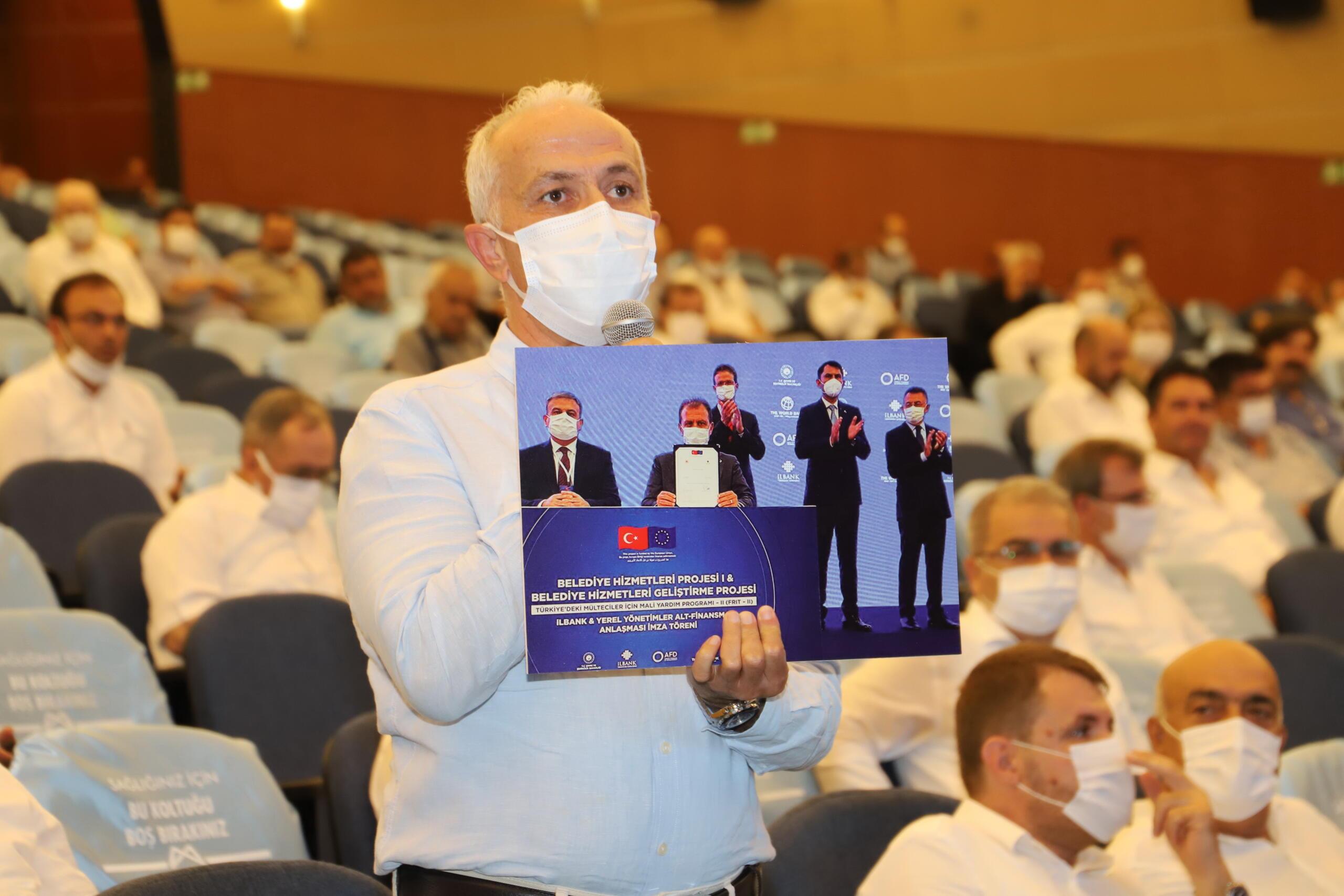 Akdeniz Belediye Başkanı; Mersin Büyükşehir Belediye Meclisi'nde konuştu;