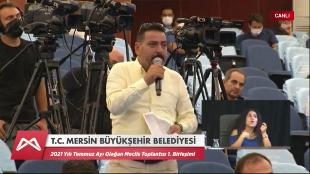 MHP'Lİ MECLİS ÜYESİ ÖNEL'DEN MECLİS'TE 'SANAYİ SİTESİ' ÇIKIŞI