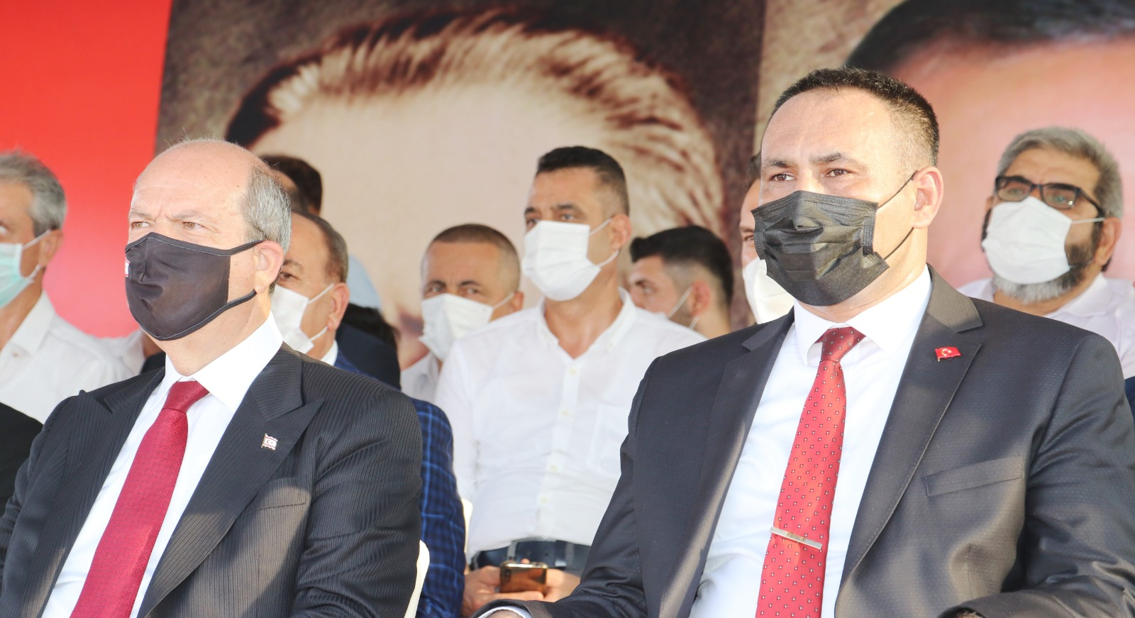 TOROSLAR, KKTC CUMHURBAŞKANI TATAR'I AĞIRLADI