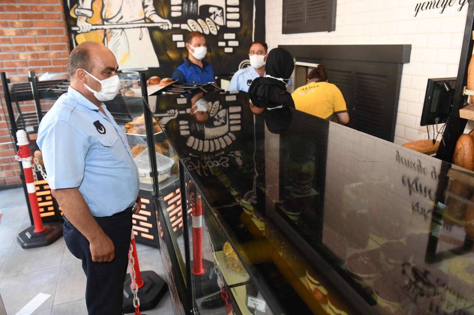 Yenişehir Belediyesi zabıta ekipleri denetimlerini sürdürüyor