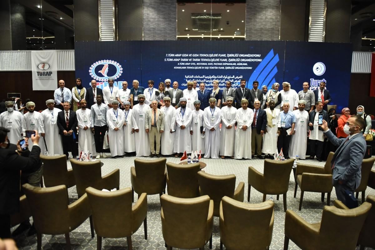 Başkan Kızıltan'dan Araplara yatırım çağrısı